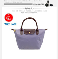 Маленькая сумочка 2013 French magazine appendix nylon handbags folding lunch bag of super efficient shopping Women Messenger Bags