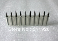10PC 0.4mm X30Angle Shank 3.175MM  Flat Bottom CNC Router Tools, Cutting Bits,Carving Tools,V Shape Engraving Bit,PCB Cutters