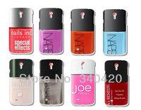 2013 Hot 8pcs/lots wholesale nail pilish hard white case cover for Samsung i9500 Galaxy SIV + free shipping