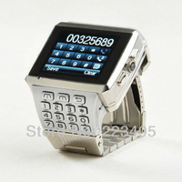 Free shipping new X8 Quad Band Dual Card WIFI JAVA Unlocked Cell Phone Watch Phone Dual Camera FM Bluetooth Watch Phone