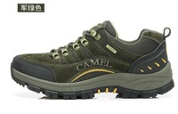 2013 new hiking shoes breathable men's casual leather outdoor shoes hiking shoes to help low