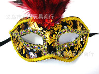 Mixedlot $14 Free shipping Halloween mask dance cloth mask feather mask fashion mask mix colors
