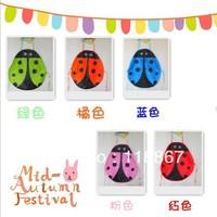 50PCS 5 colors Cute Ladybug Kids Kitchen Garden Fabric Craft Apron Lovely Child Pinafore apron child