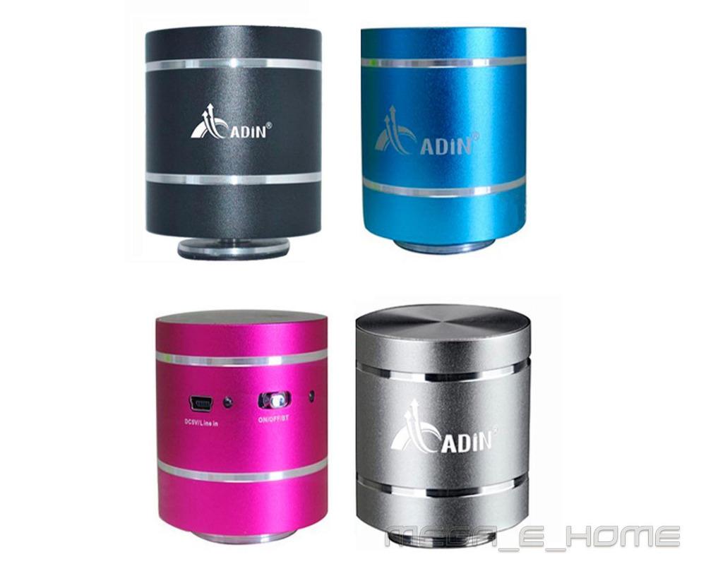 5 pcs X new version of D1BT Bluetooth Adin Omni-Directional Vibration Speaker Black/Silver/Pink/Blue 3.7V 600mAh Li-ion battery(China (Mainland))