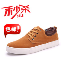 Breathable skateboarding shoes male sports casual male shoes scrub low-top single shoes male shoes