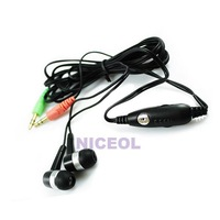 NI5L Hands Free PC Headphone Headset Microphone For MSN P
