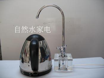 Crystal coffee table desktop countertop 2 goose neck faucet water purifier
