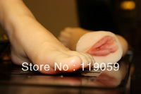 Exclusive dealing-- 2013 new arrived silicone  feet vagina sex toys for men realistic real foot sexy vagina Masturbators T3600