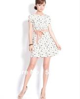 New 2013  Autumn -Summer Dress Women Chiffon  Casual Dress