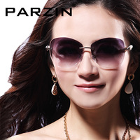 Sunglasses / Parson sunglasses diamond luxurious pearl rhinestone women's sun glasses fashion rimless sunglasses