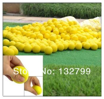 10Pcs Indoor Outdoor Training PU Foam Balls Practice Golf Golfer Sports Elastic
