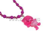 Free shipping!!!Jewelry Sets,2013 fashion women, Acrylic, bracelet & necklace,  with rhinestone, pink, 23x38x8mm