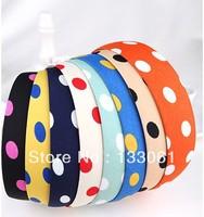 Hair  Accessories Little Wide Hair Hoop Hair Band 6Piece A Lot Girls  Free Shipping Fashion Headwear  2013Fashion Style