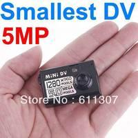 5MP HD Smallest Mini DV Hidden Digital Camera Recorder Camcorder Webcam DVR 720x480  Free Shipping