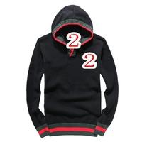 New 2014 latest fashion men's fleece hoodies fashion sports men hoodies coat large size free shipping promotions