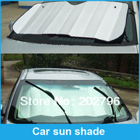 Free shipping Foldable Car Auto Front Rear Windshield Sunshade Sun Shade