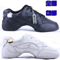 (not sansha) SM304 Aerobics dance shoes modern jazz dance shoes best genuine leather sneakers dance shoes casual shoes woman