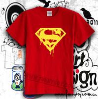 Fashion high quality t-shirt supermans death super man lovers 100% cotton