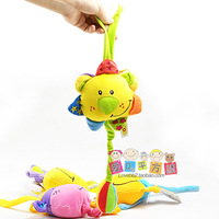 Tolo child music box music rang baby lathe hang baby plush toy no battery 2