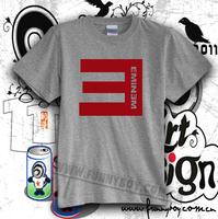 Chromophous t-shirt eminem e mark of hiphop t-shirt hip-hop ouma 100% cotton