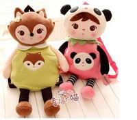 Holiday sale metoo children sweet cartoon cute kindergarten kids school backpack girl shoulder bag plush doll toy baby gift 1 pc