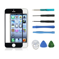 Replacement LCD Front Outer Screen Glass Lens for iPhone 5 + Free Tools Free Shipping
