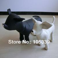 Free Shipping Fashion Leather White Black Dog Model S M L 3 Sizes Designer Personalized Pet Dog Products