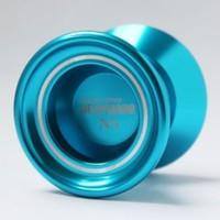 Free shipping Magic YoYo N5  Desperado Aluminum Alloy metal Professional Yo-Yo Blue with 2 Strings High Quality