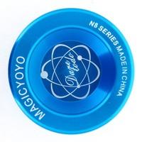 Free shipping Magic YoYo N8 Dare To Do Blue Alloy Metal Aluminum Professional Yo-Yo toys with 2 Strings best choose