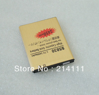 Wholesale Gold Golden Battery For Samsung Galaxy Ace GT-S5830 S5830 Galaxy 2450mah