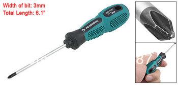 Mini Nonslip Plastic Long Handle 3 x 155mm Philips Screwdriver