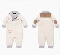 2013 Autumn and Winter Baby boys / girls Rompers 100% Cotton New born kids romper / onesie