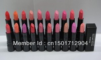 5PCS/LOT 2013 New Style High Quality puer Nude color lustre Lipstick 20 different colors free shipping