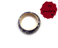 3 Piece Promotion! Factory Price! YuLin Fashion Jewelery YL.004R! Unique Design Simple Blue Ring!  Free Shipping!