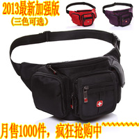 Swiss army knife outdoor sports casual fashion bag man bag cross-body male chest pack lovers travel bag waist pack