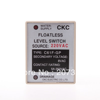 AC 220V Liquid Control Relay Floatless Level Switch Sensor 8 Pin SPDT C61F-GP
