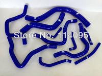 SILICONE HOSE KITS FIT FOR MITSUBISHI LANCER EVO 7-8 CT9A Blue