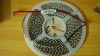New 5M 5630 300LEDs Cool White  LED Strip High Brightness Waterproof DC 12V & 3Key Mini Controller Dimmer