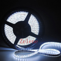 Free shipping waterproof LED strip SMD3528 120LED/m 5m 600 LED DC12V 36W Red/Yellow/Blue/Green/White/Warm White Strip Light