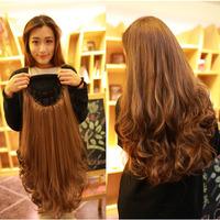 Big wave half wigs pear wig female long curly hair fluffy female jiafa wigs