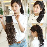Women wig wig sweet pear volume farrier scroll bandage horsetail