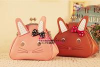 Messenger bag small bags women's handbag 2013 rabbit cartoon fashion candy bag