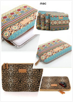 Fashion Computer Bag Notebook Smart Cover For ipad MacBook Bohemia Leopard Sleeve Case 10 12 13 14 15 inch Laptop Bags & Cases