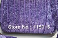 11 Colors !!! Fold Over Elastic 10 yd/color 5/8 inch FOE Velvet Glitter Elastic Shiny for elastic Headbands Hair Ties Hairbow