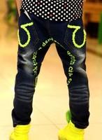 Free shipping 2014  Newest Stylish Kids Boys  Children Fashion Leisure Jeans Trousers Retail  B079