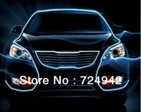 double moding EL cold atmosphere of light lines of automotive interior decorative lights LED cold strip lights