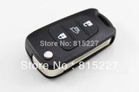 2014 Hot Sale Uncut Blade 3 Buttons Flip Remote Key Shell For Kia K2 K5 Car Keys Blank Case Cover + HK Post Free Shipping