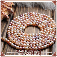 multicolor color pearl  2013 necklace statement