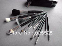 Brand Professional 100% new 12 pcs/Set Pro Cosmetic Makeup Brushes Set Makeup Tool Free shipping