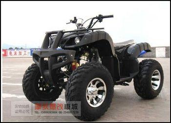 Four-wheel off-road vehicles big 250cc atv bull 10 aluminum wheels air-sac before and after double aluminum